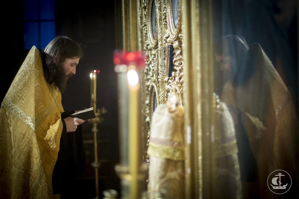 28-29 декабря 2013, Богослужения в Неделю 27-ю по Пятидесятнице, святых праотец