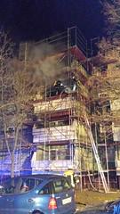 Balkonbrand Neujahrsnacht - 01.01.14