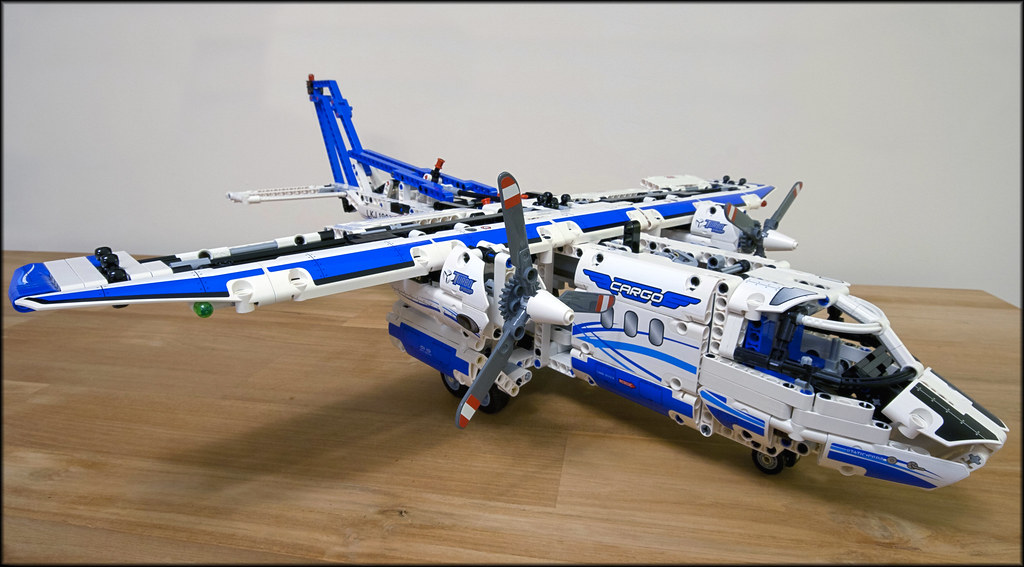 42025 Cargo Plane MODs and Improvements - LEGO Technic, Mindstorms ...