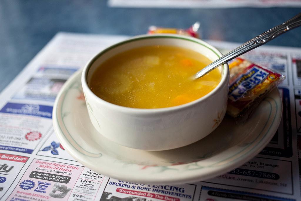 Soup   At Tom's River Diner