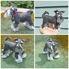 Custom Pet Portrait ~ Needle Felted Dog ~ Miniature Schnauzer Menzies by Gourmet Felted
