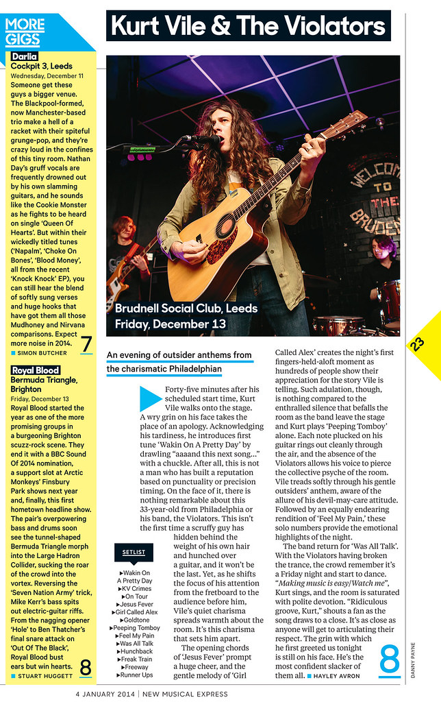 Kurt Vile & The Violators - NME Magazine
