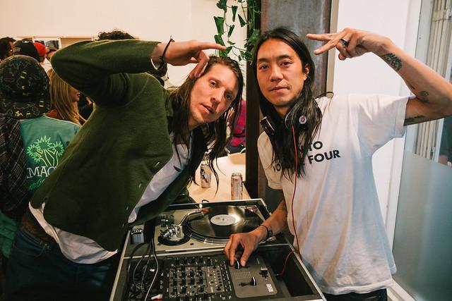 "Erik Ellington & Don ""Nuge"" Nguyen @ Filmus Zine Release - Kingswell Los Feliz"