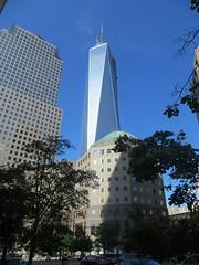 NYC Vacation: World Trade Center Memorial visit