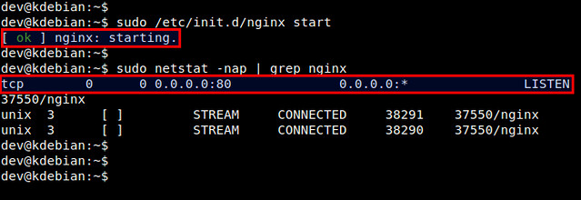 How to compile and install Nginx web server from source on