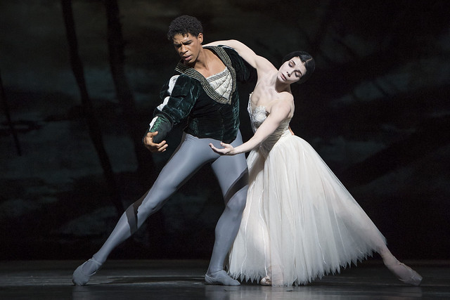 The Royal Ballet: Giselle. Natalia Osipova as Giselle and Carlos Acosta as Albrecht