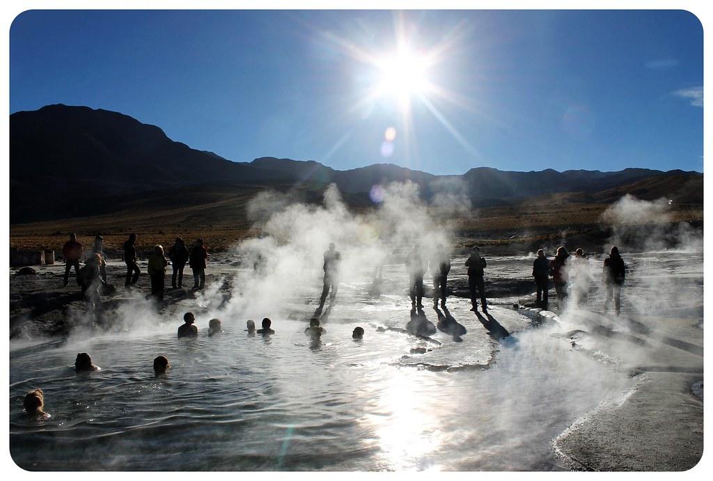 el tatio geyser field atacama desert chile hot springs