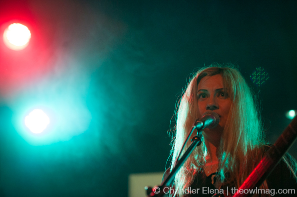 Frankie Rose @ The Echo, LA 2/2/14
