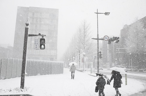 heavy snowstorm at Chiba 02