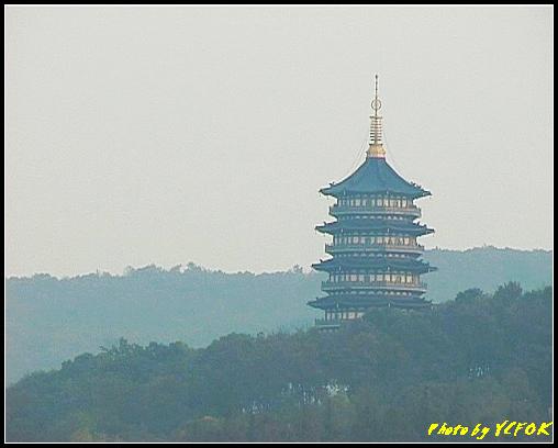 杭州 西湖 (其他景點) - 288 (在西湖十景之 蘇堤 看西裡湖及西湖十景之 雷風塔)