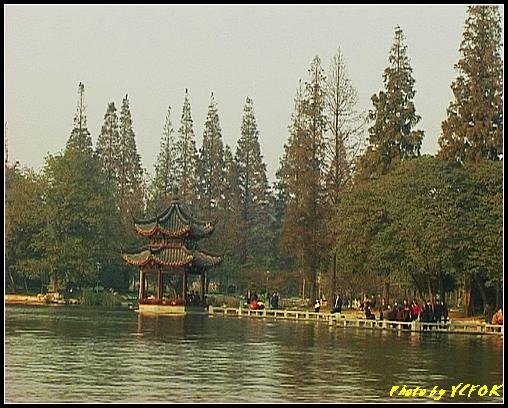 杭州 西湖 (其他景點) - 521 (西湖十景之 柳浪聞鶯 在這裡準備觀看 西湖十景的雷峰夕照 (雷峰塔日落景致)
