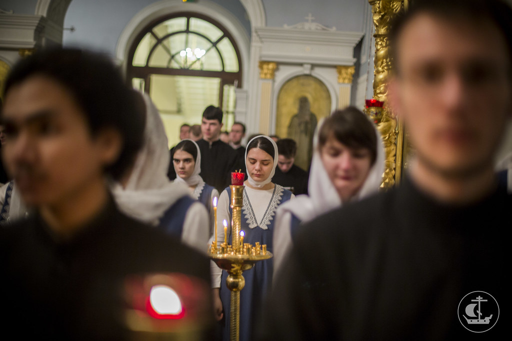 12 февраля 2014, Литургия в день памяти Собора Трех Святителей / 12 February 2014, Holy Liturgy on the feast of the Synaxis of the Three Hierarchs