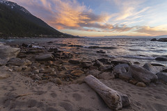 Dusk at Hidden Beach