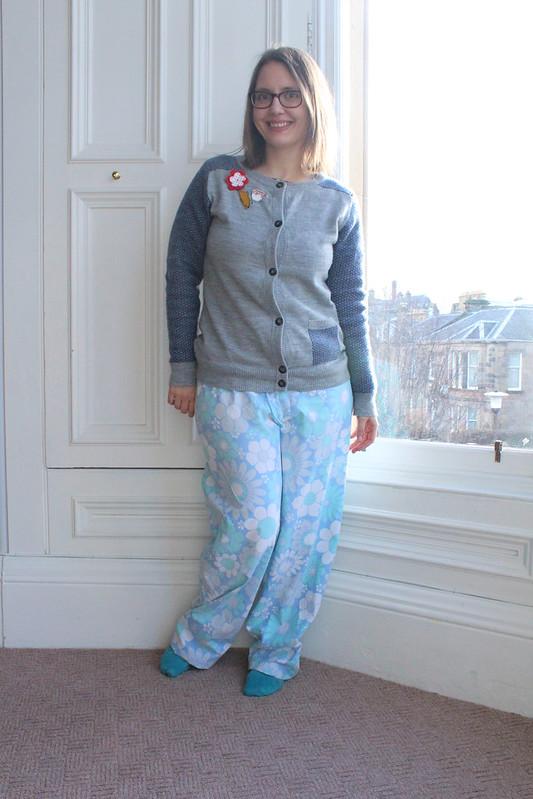handmade pyjama bottoms