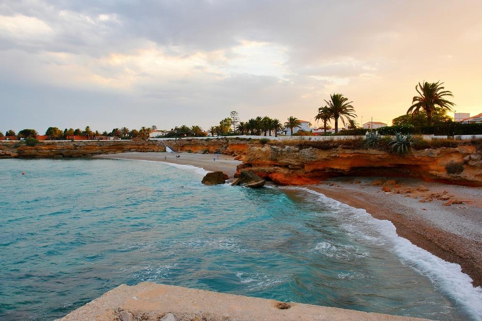 3. Detalle de la costa de Vinaròs. Autor, Ruedisfotos