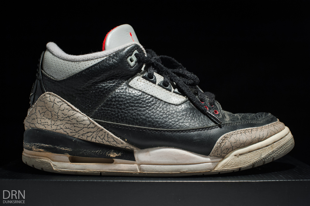 1994 Black Cement III's.