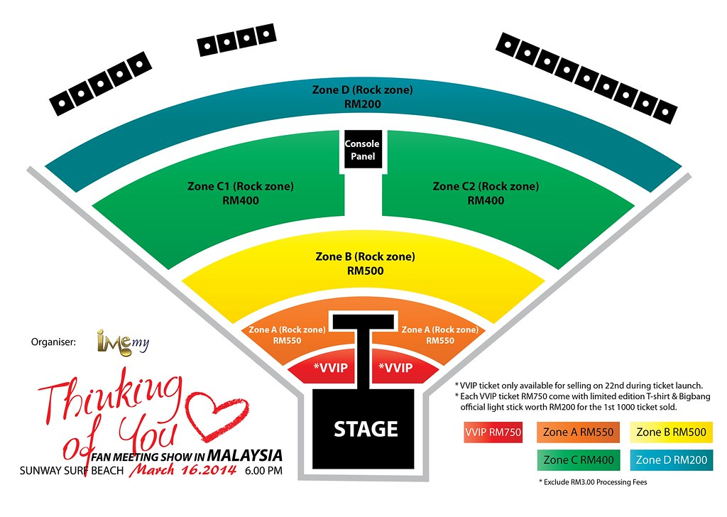 Ticket Launch Thinking Of You Fan Meeting Show In Malaysia