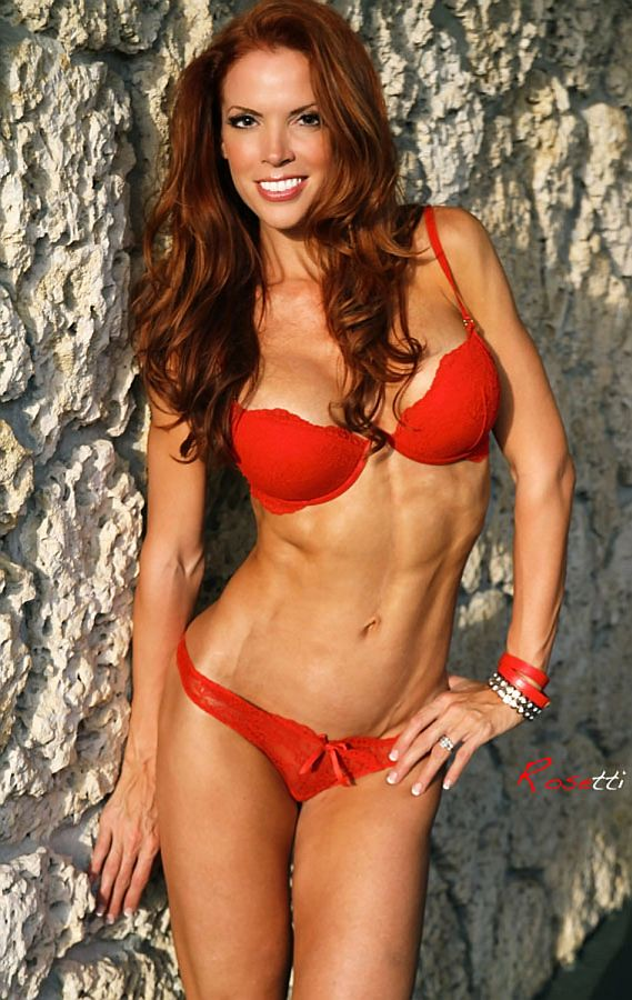 Apologise, Redhead female fitness girls very