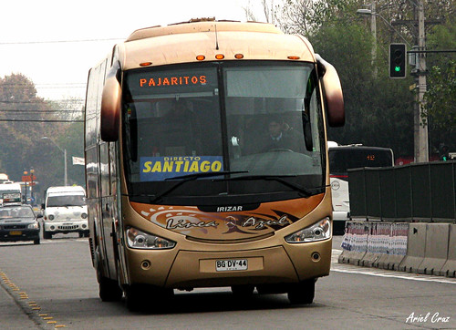 Línea Azul en Santiago | Irizar Century - Mercedes Benz / BGDV44