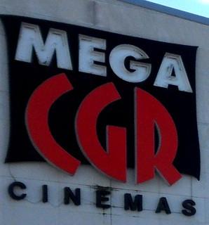 Cinéma Méga CGR de Buxerolles