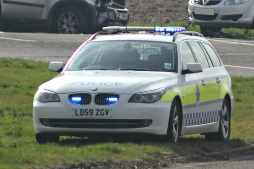 Lincolnshire Police BMW 530d Roads Policing Unit Traffic Car