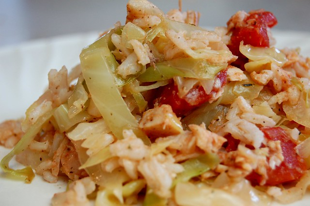 Deconstructed Cabbage Rolls