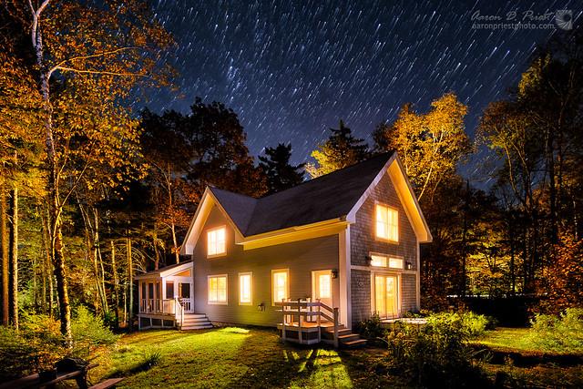 Mount Kineo Cottage, Kineo Island, Moosehead Lake, Maine