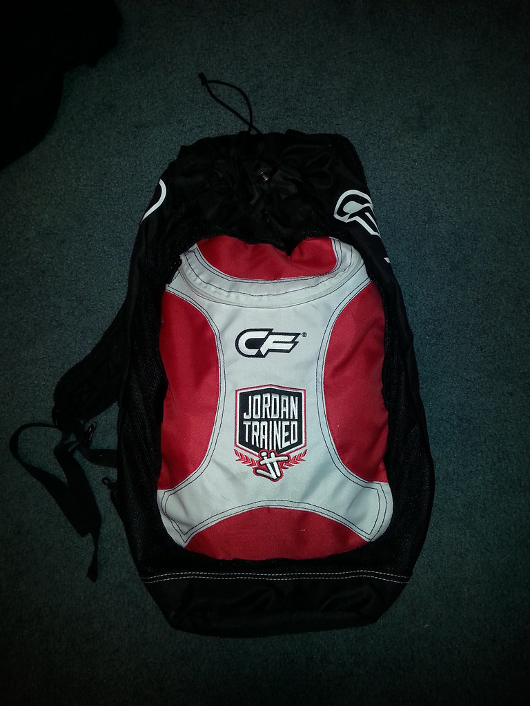 fbdf5c483a1a Jordan Trained CageFighter gear bag  gone