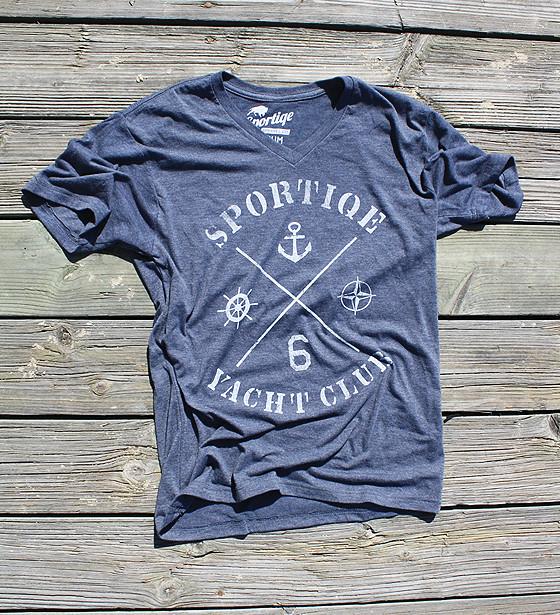 Sportiqe Yacht Club Comfy T-Shirt