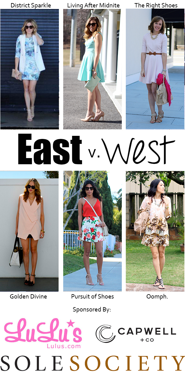 East vs West Pastel Style on Living After Midnite