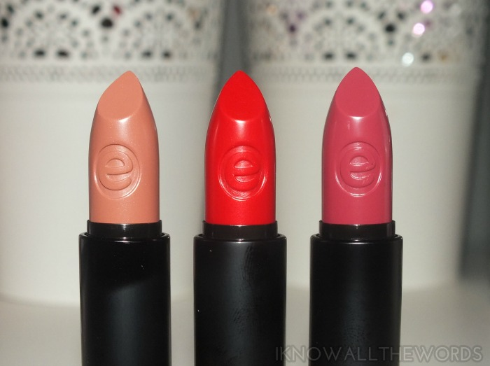 Essence Longlasting Lipstick- Dare to be Nude, Dare to Wear and On the Catwalk! (7)