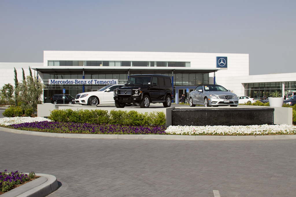 mercedes benz dealership opens in temecula a red letter