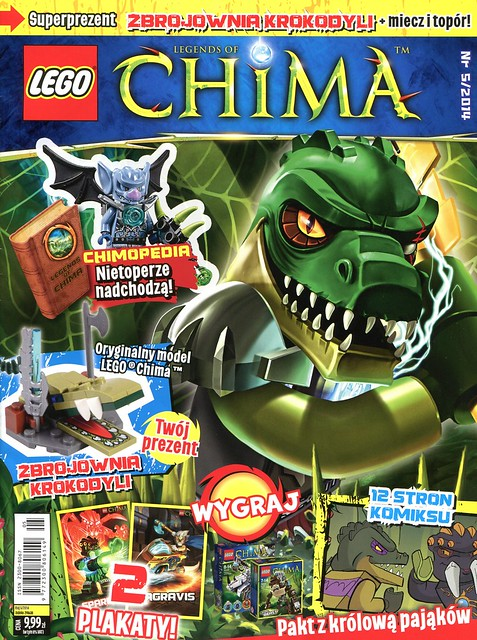 LEGO Legends of Chima Oficjalny Magazyn 2014-05 01