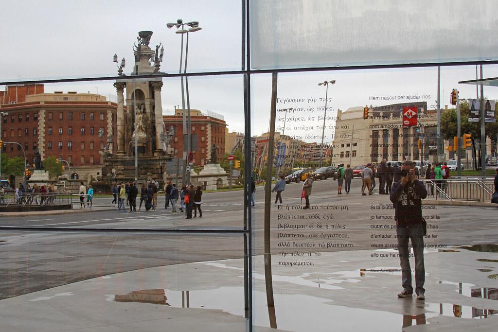 Plaça d'Espanya / Rob / Barcelona