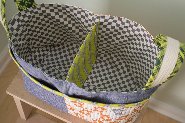 Divided Basket Inside