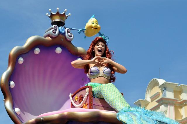Festival of Fantasy Parade - Little Mermaid