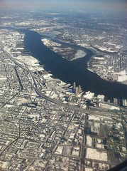 2014 01 24 Flying over Philadelphia