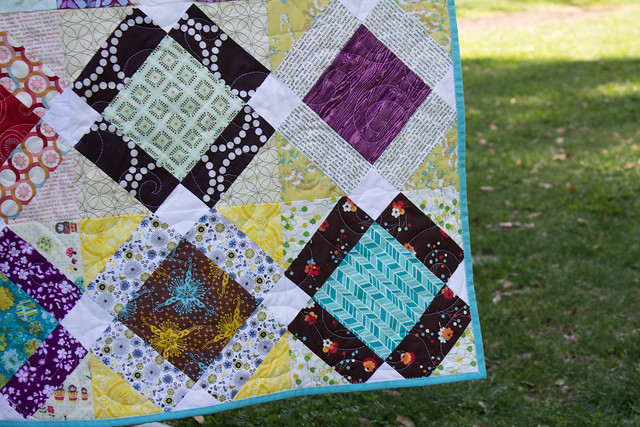 Grace Circle February Quilt Closeup