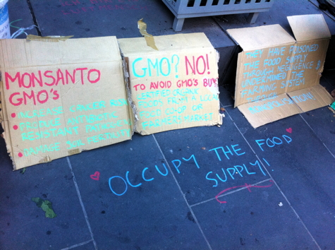 Occupy The Food Supply