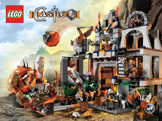 LEGO Castle Dwarves' Mine (7036)