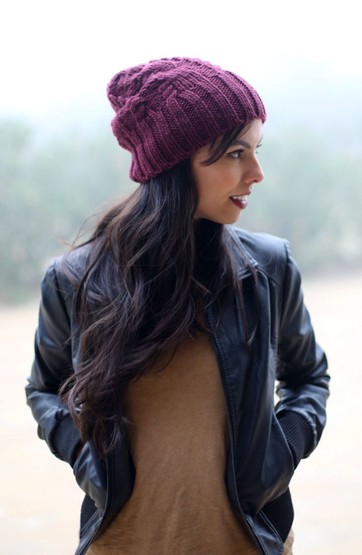 casual winter outfit, asos beanie