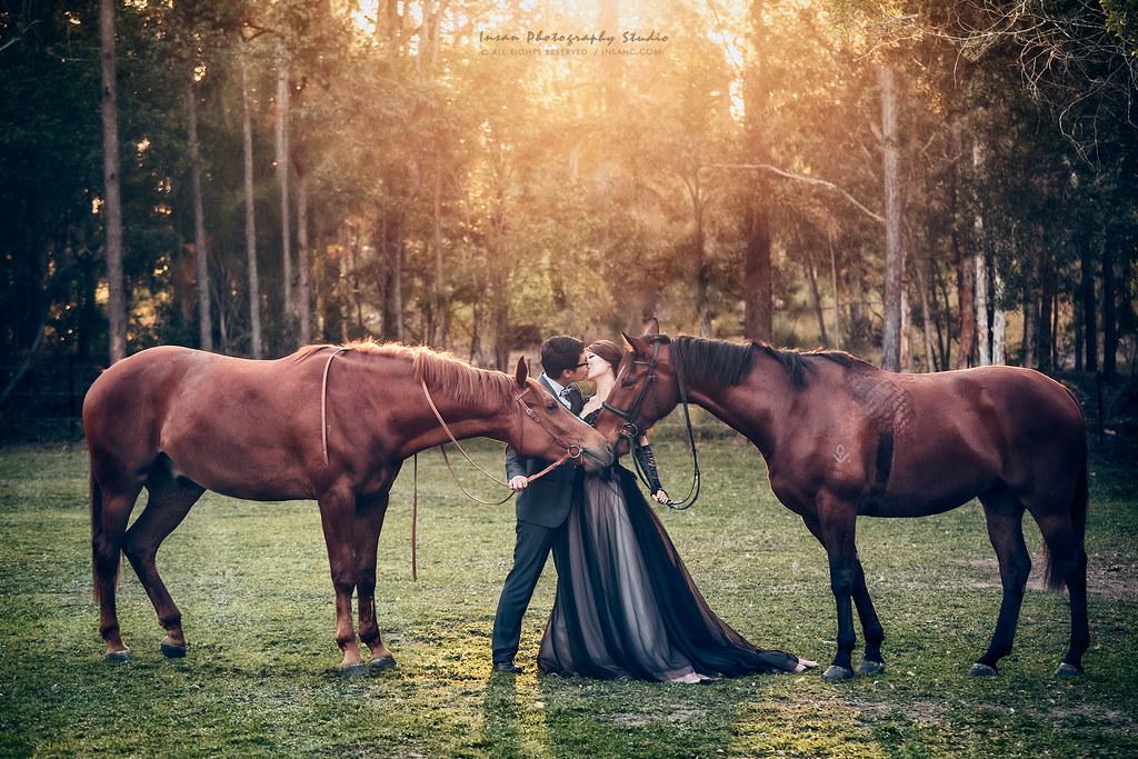 [海外婚紗] 澳洲 {布里斯班,黃金海岸} ~ 搶先版 兩隻小馬-1920 拷貝