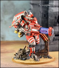 Tau XV109 Y'vahra Battlesuit