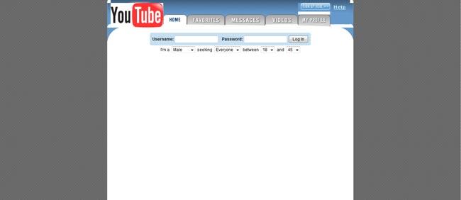 Youtube-Layout (2005)