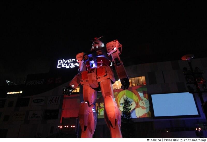 日本台場 鋼彈 彩虹大橋 自由女神 景點12