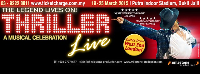 Konsert Musical THRILLER LIVE Malaysia Tribute Michael Jackson