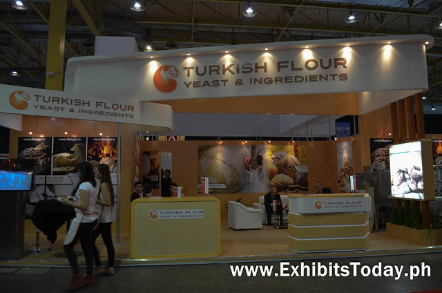 Turkish Flour Yeasts & Ingredients Trade Show Booth Display