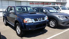 automobile(1.0), automotive exterior(1.0), pickup truck(1.0), sport utility vehicle(1.0), wheel(1.0), vehicle(1.0), truck(1.0), compact sport utility vehicle(1.0), nissan(1.0), bumper(1.0), nissan navara(1.0), land vehicle(1.0),