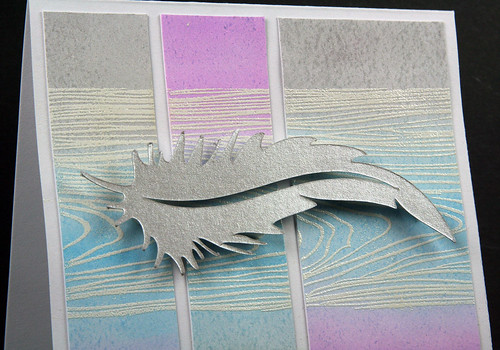 Silver Feather Congrats Card | shirley shirley bo birley Blog