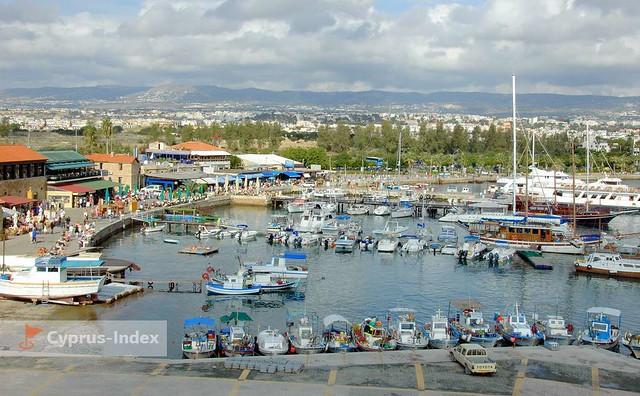 Муниципальный Пляж города Пафос Бани. Пляжи Кипра а городе Пафос